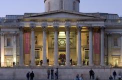 De Voorzijde van het National Gallery royalty-vrije stock afbeelding