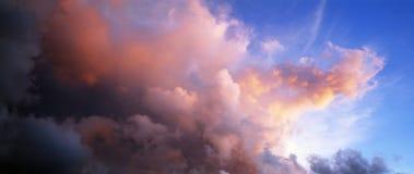 De voorzijde van het onweer Royalty-vrije Stock Foto's