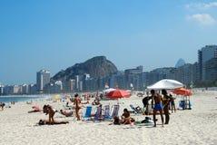 De voorzijde van het strand Royalty-vrije Stock Foto's