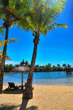 De Voorzijde van het strand Royalty-vrije Stock Foto