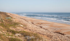 De Voorzijde van het Strand van Florida in de Lente stock fotografie