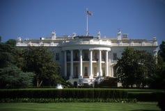 De voorzijde van het Witte Huis Royalty-vrije Stock Afbeeldingen