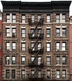 De voorzijde van New York Stock Afbeelding