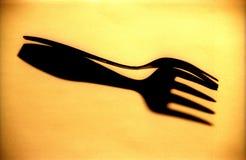 De vork Royalty-vrije Stock Afbeeldingen
