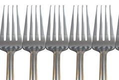 De vorken van het metaal Royalty-vrije Stock Afbeelding