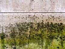 De vorm behandelt dik een muur stock afbeelding