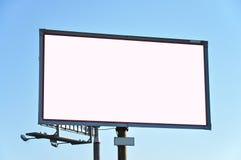 In de vorm van aanplakbord reclame Stock Foto