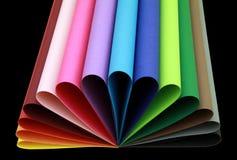 De vorm van de kleur Stock Foto's