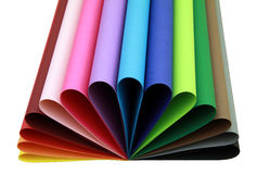 De vorm van de kleur stock fotografie