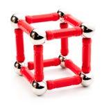 De vorm van de kubus royalty-vrije stock foto's