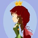 De vorm van de prinses Stock Afbeeldingen