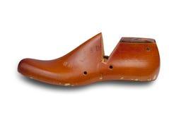 De vorm van de schoen met het knippen van weg Stock Fotografie