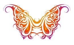 De vorm van de vlinder Royalty-vrije Stock Fotografie