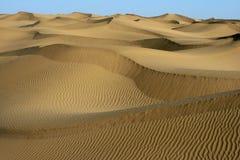 De vorm van de woestijn royalty-vrije stock foto's