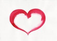 De vorm van het hart Stock Foto's