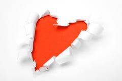 De vorm van het hart Royalty-vrije Stock Fotografie