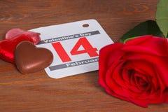 De vorm van het hart die met chocolade wordt gemaakt. royalty-vrije stock afbeeldingen