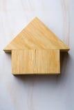 De vorm van het huis Stock Foto's