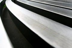 De vorm van het staal Stock Afbeelding