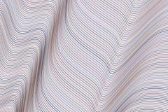 De vorm van lijn, kromme & golf, vat geometrisch patroon samen als achtergrond Details, oppervlakte, tekening & vector vector illustratie