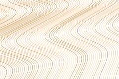 De vorm van lijn, kromme & golf, vat geometrisch patroon samen als achtergrond De oppervlakte, slordig effect, & herhaalt stock illustratie