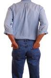 De vorm van Worknam erachter Stock Foto