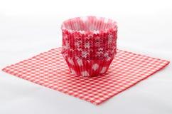De vormen van Cupcake Stock Afbeeldingen