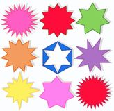 De vormen van de ster Royalty-vrije Stock Fotografie