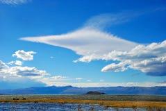 De vormen van de wolk royalty-vrije stock fotografie