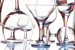 De vormen van het glas Royalty-vrije Stock Fotografie