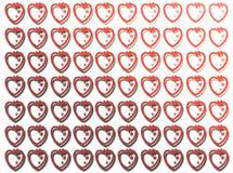 De Vormen van het hart Royalty-vrije Stock Afbeelding