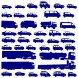 De vormen van het voertuig Stock Fotografie