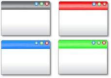 De vormen van het Web Stock Fotografie