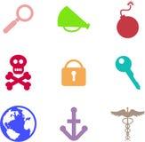 De vormen van objecten stock illustratie