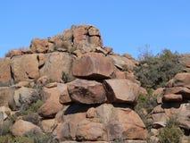 De vorming van de rots Royalty-vrije Stock Foto's