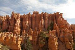 De vorming van de rots in Bryce Stock Afbeeldingen