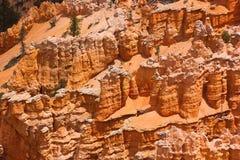 De vorming van de rots in Canion Bryce Stock Afbeeldingen