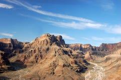 De vorming van de rots in de Grote Canion Stock Foto's