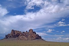 De vorming van de rots in New Mexico stock afbeeldingen