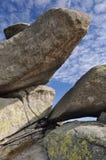 De vorming van de rots Twaro?nik Stock Foto
