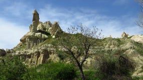 De Vorming van de rots in Cappadocia royalty-vrije stock foto's
