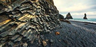 De vormingen van de basaltrots royalty-vrije stock fotografie