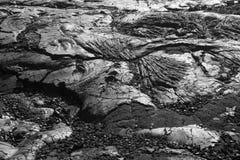 De Vormingen van de lava Royalty-vrije Stock Afbeeldingen