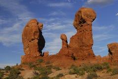 De vormingen van de rots Stock Foto