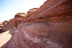 De vormingen van de rots bij HoefijzerKromming royalty-vrije stock foto