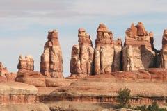 De vormingen van de rots in Canyonlands royalty-vrije stock fotografie