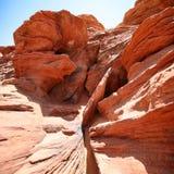 De vormingen van de rots in de Canion van de Nauwe vallei stock afbeelding