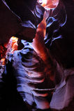 De vormingen van de rots in de Hogere Canion van de Antilope Royalty-vrije Stock Afbeeldingen