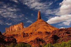 De vormingen van de rots in de kreek van het Kasteel, Utah Royalty-vrije Stock Foto