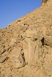 De vormingen van de rots in de woestijn Royalty-vrije Stock Foto